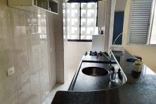 Apartamento em Santos - Apto confortável na orla da praia em Santos